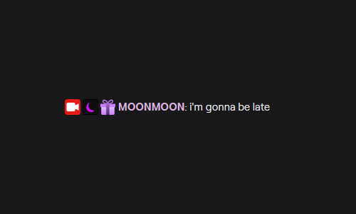BREAKING NEWS: MOONMOON is going to be late!